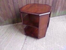 Table Dark wood Plant Stand Side Delivery Available