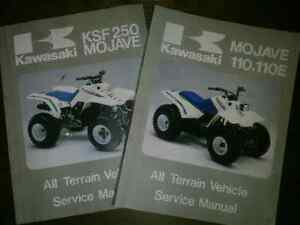Kawasaki Mojave ATV Service Manual