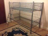 Metal bunk beds. Frames only.