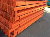 job lot redirack pallet racking 1000 bays available!! AS NEW( storage , shelving )