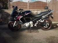 SUZUKI GSX650F in excellent condition, with just under 5500 miles from new. 1 owner in black/red.