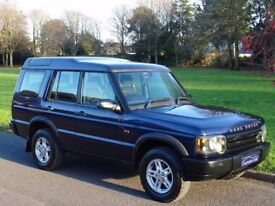 2004 Land Rover Discovery 2 2.5 TD5 E 5dr (7 Seats) 7 SEATS + NEW MOT