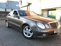 Mercedes-Benz E Class 2007 2.1 E220 CDI Avantgarde 4 door AUTOMATIC, 1 YEAR WARRANTY, 2 OWNERS, FSH