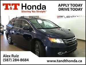 2014 Honda Odyssey Touring *Local Van, No accidents, Fully Loade
