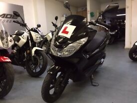 Honda PCX 125cc Automatic Scooter, Black, V Good Condition, ** Finance Available **