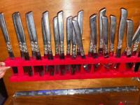 Forks, spoons and knifes for sale