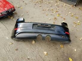 golf mk5 r32 rear bumper black gti gt tdi