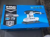 Macallister sander 200w new with box never used