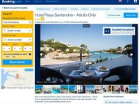 2 week holiday to Menorca 16th-30th June, hotel and apartment overlooking a beautiful beach and sea!