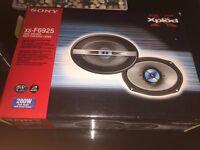 sony xs- f6925 2 way car speaker 280W