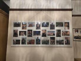 White Multi Photo Frame