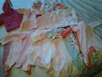 Newborn clothing bundle 35 pieces size up to 7/7.5lb