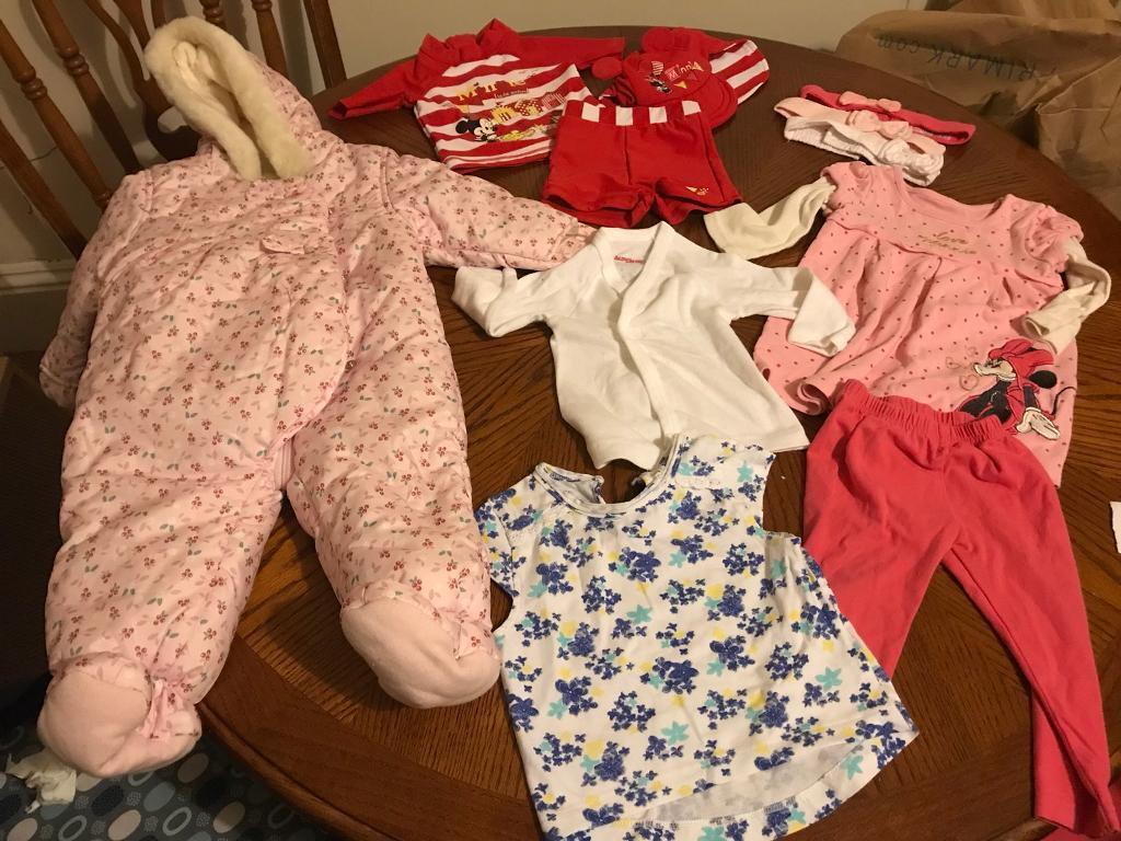 6-9 months girl baby clothes