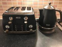 Delonghi kettle & toster