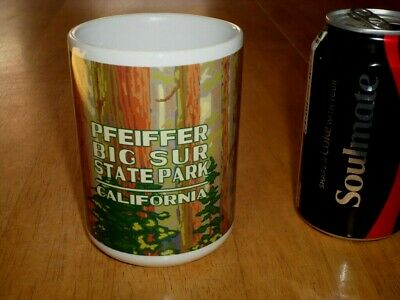 Pfeiffer Big Sur State Park (PFEIFFER BIG SUR STATE PARK, CALIFORNIA, JUMBO SIZE, Ceramic Coffee Cup,Vintage )