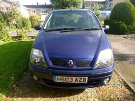 Renault SCENIC vgc throughout MOT August 2017, Service History