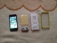 iphone 5, 16gb, black and slate, on O2, giffgaff & tesco mobiles,