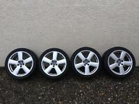 Audi alloy wheels A6 and other models