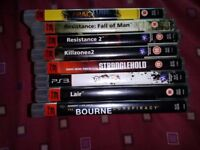 8 X SONY PLAYSTATION 3 GAMES PS3 GAMES