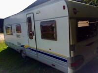 Burstner s530tl 5 berth 2005 (like Hobby Fendt) , full awning , motor mover excellent condition