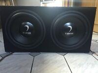 """Twin Diamond Audio CM312D4 12"""" Car Audio Subwoofer Boxed"""