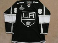 Drew Doughty LA Kings Stanley Cup Autographed Jersey