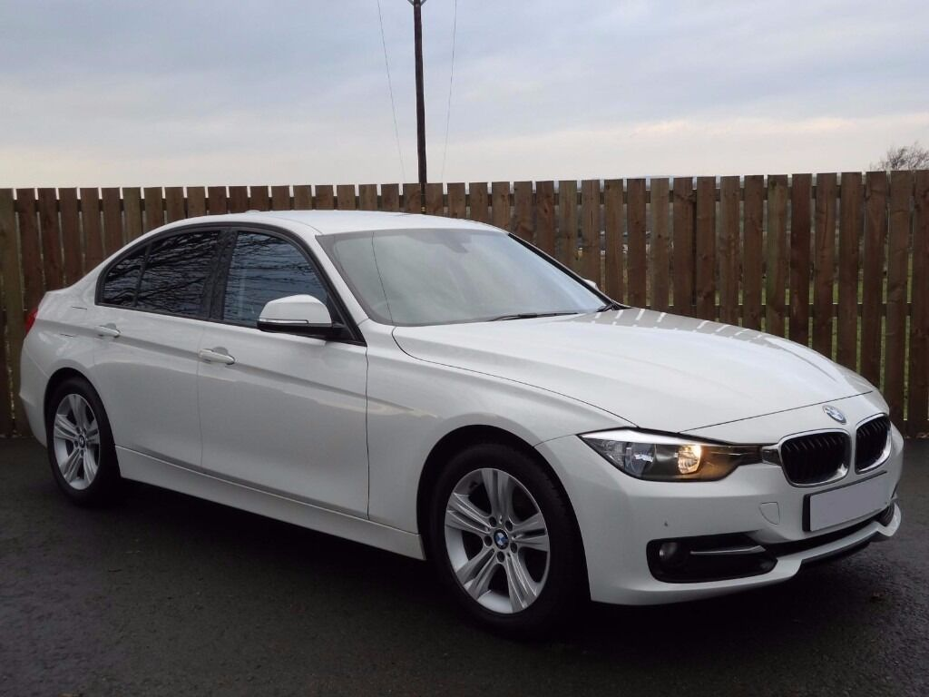 2012 62 bmw 320d se automatic 4 door white 3 series 22k immaculate in harrow london gumtree. Black Bedroom Furniture Sets. Home Design Ideas