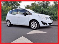 (White & Nice)- 2013 Vauxhall Meriva 1.4 -- Automatic -- Low 25000 Miles -- Part Exchange OK --CHEAP