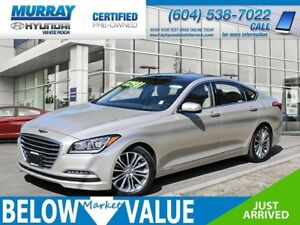 2015 Hyundai Genesis 3.8 Tech**LEATHER**REAR VIEW CAMERA**SUNROO