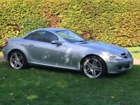 Mercedes SLK 350 excellent condition, only two previous owners full service history 11 months mot.