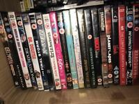 DVDs 50p or 3 for pound