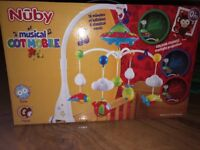 Nuby musical cot mobile like new