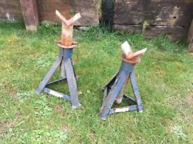 CAR VAN COMMERCIAL AXLE STANDS HEAVY DUTY 3 TON 3000KG £10