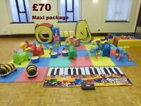 Soft play equipment hire Leeds