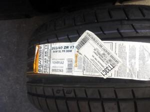 ONE TIRE ONLY.  BRAND NEW ULTRA HIGH PERFORMANCE CONTINENTAL EXTREME CONTACT 265 / 40 / 17 TIRE.