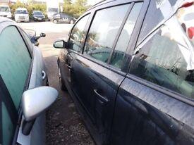 Vauxhall Zafira mk 2 Passengers Front door in Black 2008