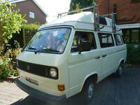 Volkswagen VW T25 Campervan (1981, Air-Cooled, Petrol, Autohomes Factory Conversion)