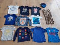 boys bundle of clothes, age 4-6, includes Lego Ninjago colour change t-shirt