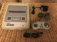 Super Nintendo console. Snes