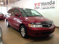 2002 Honda Odyssey EX-L *Local Vehicle, Low Kms! Leather Seats*
