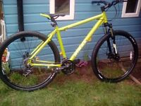 USED TWICE! MTRAX 29er HARDTAIL MTB + LIGHTS, LOCK & SPARE DISC WHEEL/TYRE***FREE DELIVERY HULL**