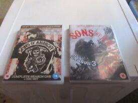SONS OF ANARCHY SEASON 1 & 3 COMPLETE