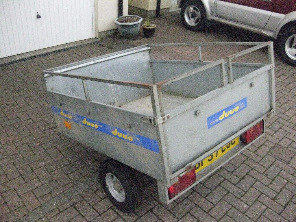 Duuo Fold Away Trailer In Launceston Cornwall Gumtree
