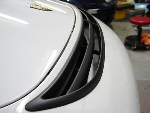 Porsche 911 Boxster 996 Cayman 981 991 997 GT3 Grill Hood Vent for Bumper !!