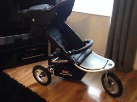Red Castle Sport - 3 wheels jogging buggy