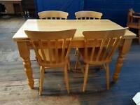 Pine Farmhouse House Table