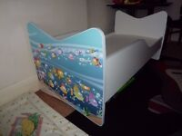 Junior bed frame with mattress