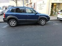 Hyundai Tucson, top of the range, 4 wheel drive, low mileage, 2006
