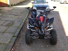 Hisun 400 cc Yamaha 350 quad bike set up for rd use