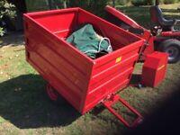 Garden trailer-countax unused